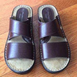 Montego Bay Club Sandals brown size 8